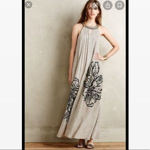 Anthropologie Dresses - Ranna Gill Embroidered Swing Dress